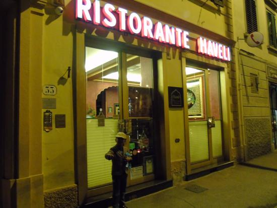 Haveli Indian Restaurant My Son Has Hy To Find Food In Italy
