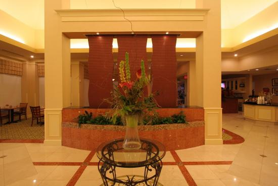 Anderson, Южная Каролина: Water Feature in Pavilion Lobby