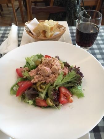 Piccolo: Tuna salad with Italian Focaccia