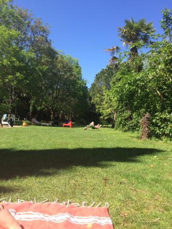 L'Orangerie de Cardet: sieste au soleil