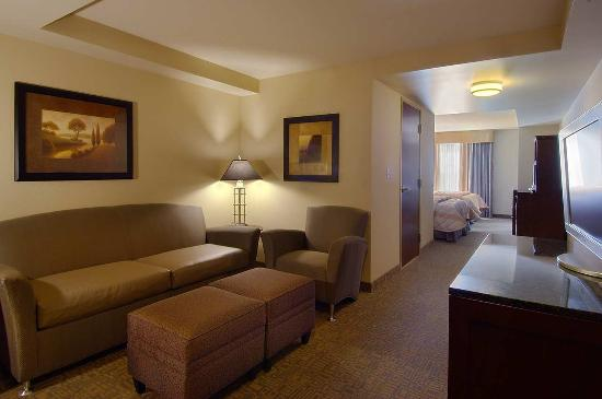 Hilton Garden Inn Worcester: Suite Living Area