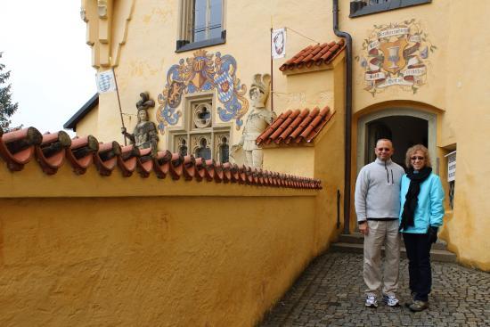 European Castles Day Tours: Castle Tour-Richard & Miriam