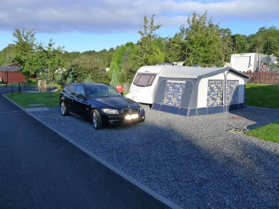 Grantown-on-Spey, UK: Standard touring pitch