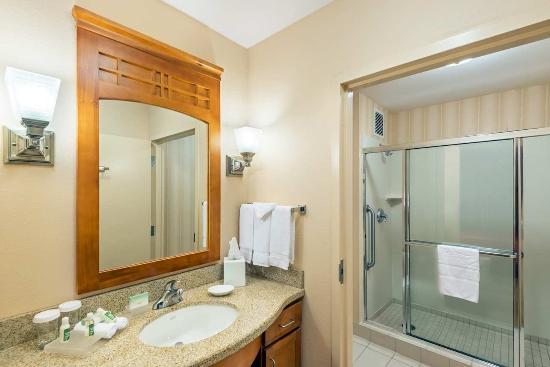 Brisbane, Kaliforniya: Accessible Suite Bathroom