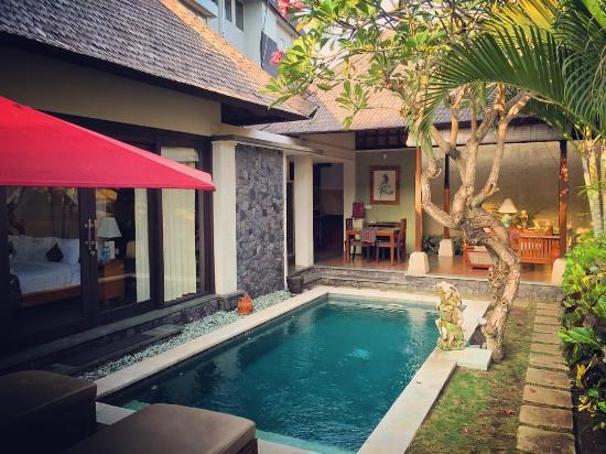 The Sanyas Suite Seminyak: Our beautiful private villa