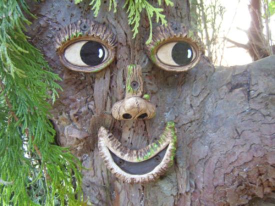 Cleveleymere The Lake House: Faces in the Trees