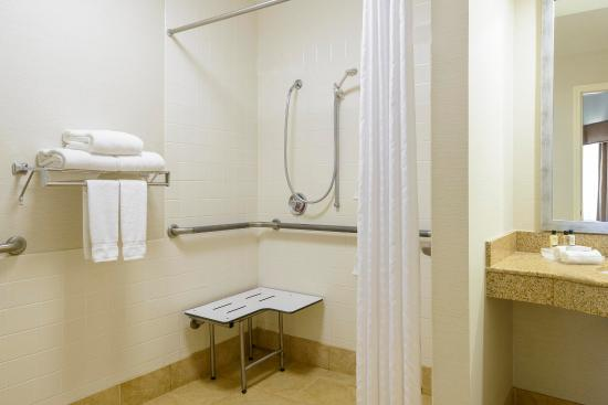 Homewood Suites by Hilton Raleigh-Durham AP / Research Triangle: Accessible Shower