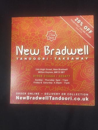 New Bradwell Tandoori