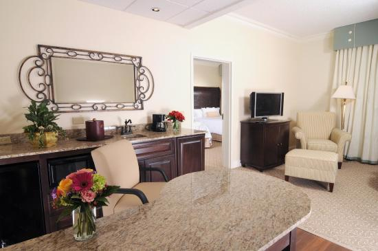 Hampton Inn & Suites Charlotte - South Park: Suite Living Room