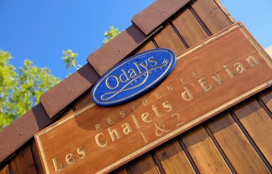 Résidence Odalys Les Chalets d'Evian : Résidence Les Chalets D'Evian