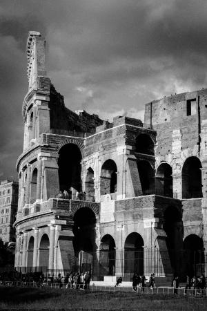 Rome Tours - Private tours of Rome: A nice sideview of the different rings of the Colosseum.