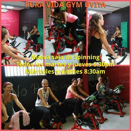Pura vida gym uvita aktuelle 2017 lohnt es sich for Clases de spinning
