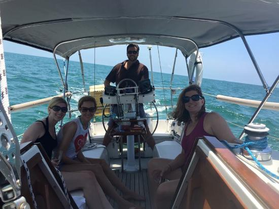 Harvest Moon Charters: Enjoying Harvest Moon w/Captain Mike
