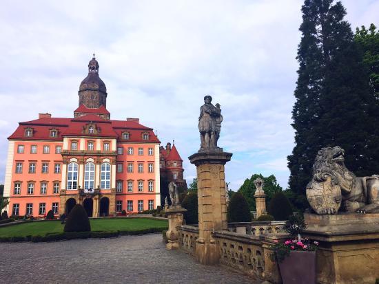 Ksiaz Castle: Nice day today!