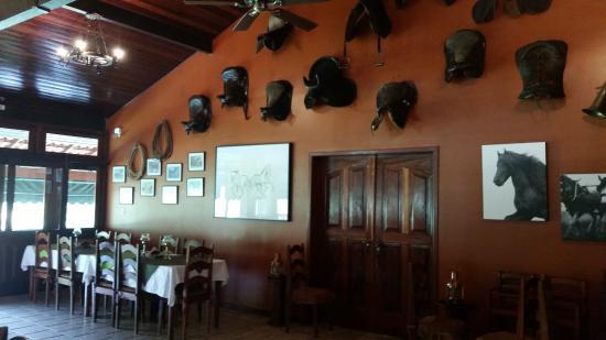 Hotel of the Britons: Restaurante.