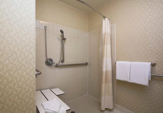 Morgan Hill, CA: Accessible Guest Bathroom - Shower