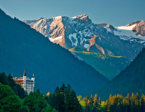 Gstaad Palace Hotel: Gstaad Palace Summer