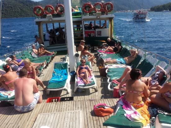 20140606_145516_large.jpg - Picture of Mega Diana Boat Trip-Tours, Marmaris -...