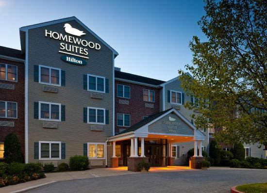 Homewood Suites by Hilton Boston/Andover: Front of Hotel