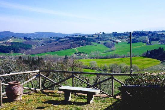 Montespertoli, Italia: Panorama