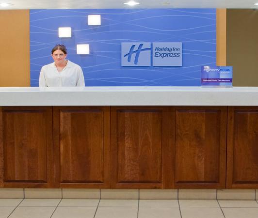 Elkins, Virginia Occidental: Front Desk