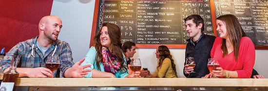 Traverse City is famous for its microbreweries.