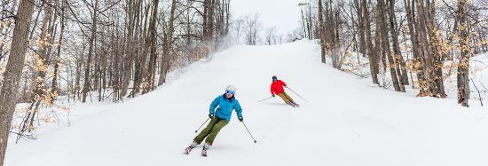 Hit the slopes at a Traverse City ski resort