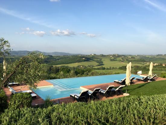 Montespertoli, Italia: Piscina