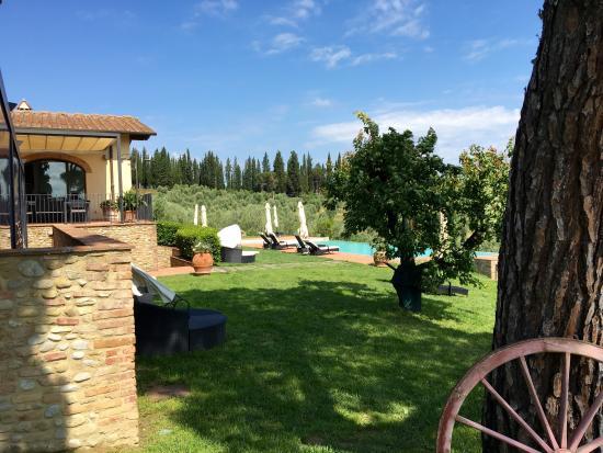 Montespertoli, Italië: Giardino