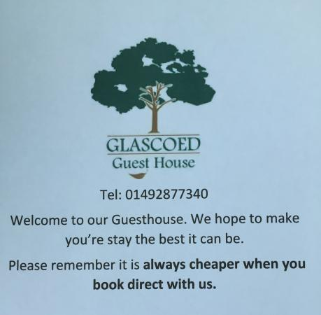 Glascoed Guest House: Book Direct
