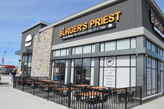 The Burger's Priest Barrie