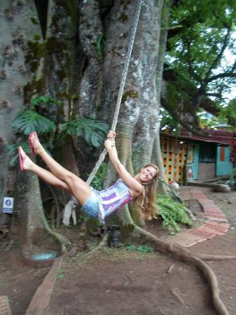 San Cristobal, Ecuador: Soga que se encuentra en el paque
