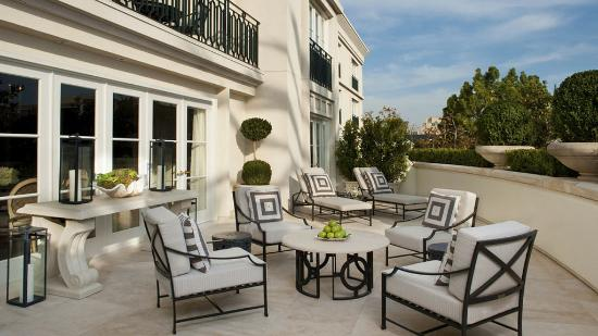The Peninsula Beverly Hills: The Royal Patio Suite