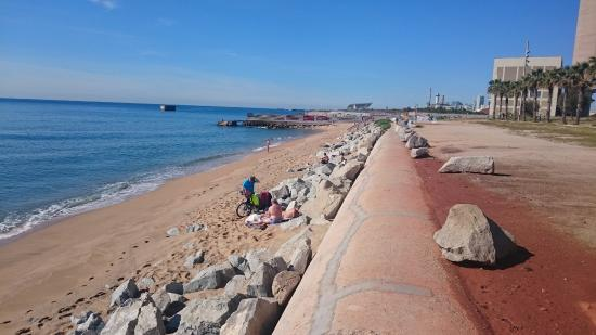 Sant Adrià de Besòs, España: Playa de la Mora