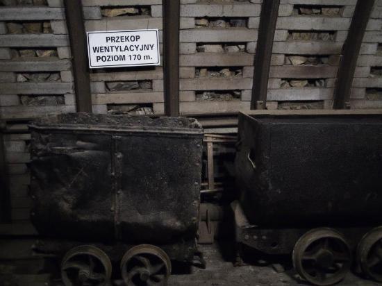 Zabrze, Polonia: Vagonetas antiguas