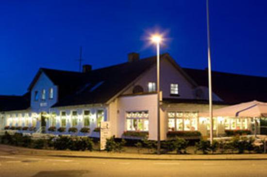 Rold Skov, Danmark: Rold Facade Night