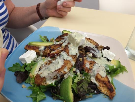 Amanzimtoti, Sydafrika: Chicken salad