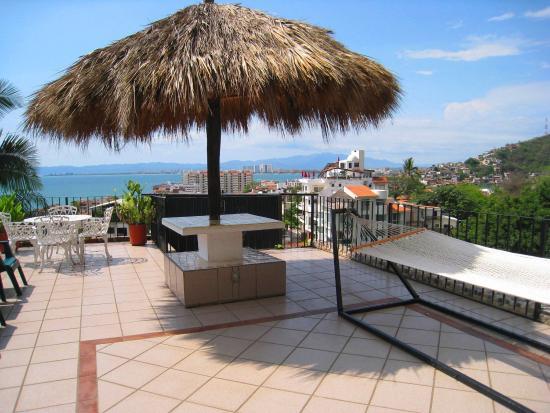 Casa Anita y Corona del Mar: Rooftop of Corona del Mar