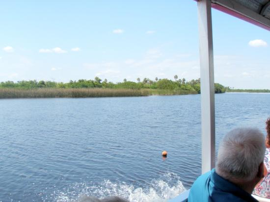 Peace River Boat Tours: blue sky blue water what else do you need?