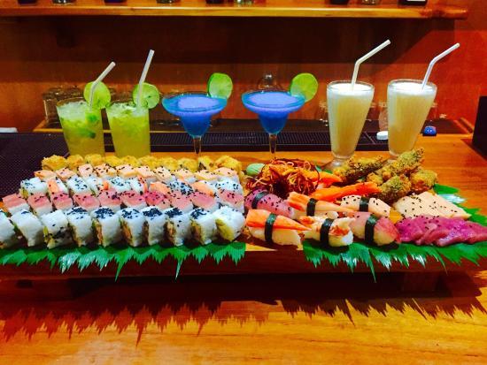 Pelikan View Restaurant: Lo mejor en sushi y happy hours