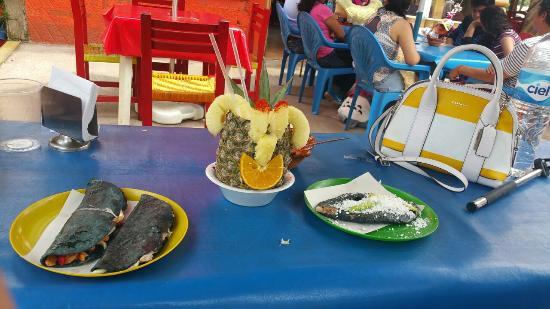 Parque recreativo La Marquesa: La comida es deliciosa y tipica