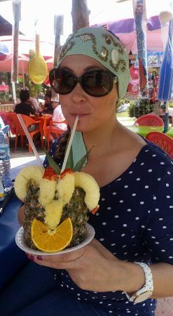 Parque recreativo La Marquesa: Pina con vodka deliciosa!!!