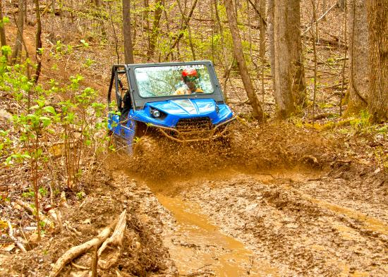 Townsend, TN: Mud+trails=fun!