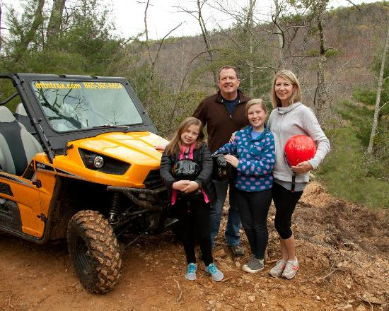Townsend, TN: Family fun off roading!