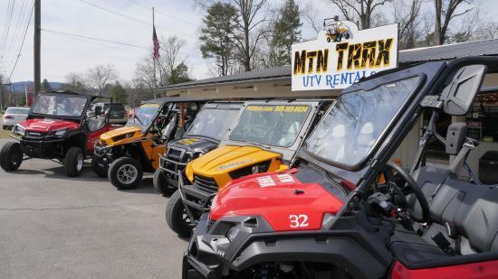 Townsend, TN: Mtn Trax UTV rentals