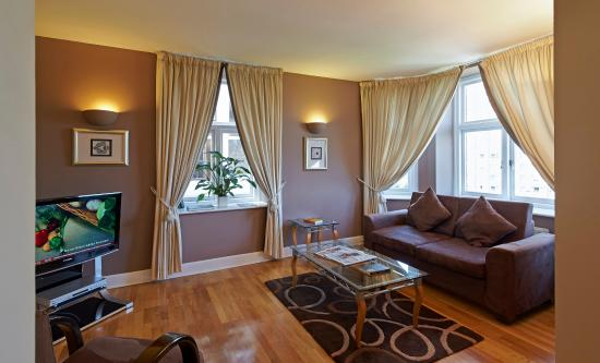 Citadines St Marks Islington London Living Room Of 2 Bedroom Apartment Executive