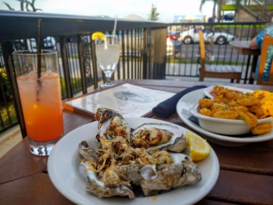 Bay Saint Louis, MS: Oysters Bienville