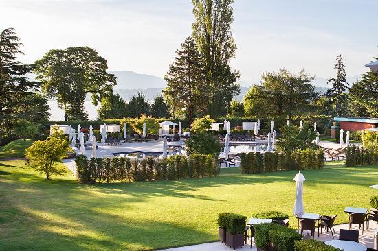 Bellevue, Suiza: Exterior
