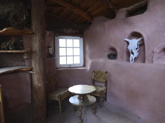 The Black Range Lodge: The hobbit house.