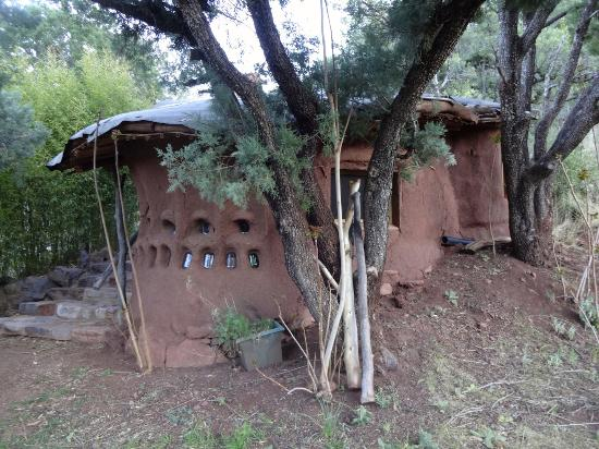 Kingston, NM: The hobbit house.